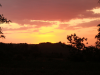 Solnedgang over Giribe