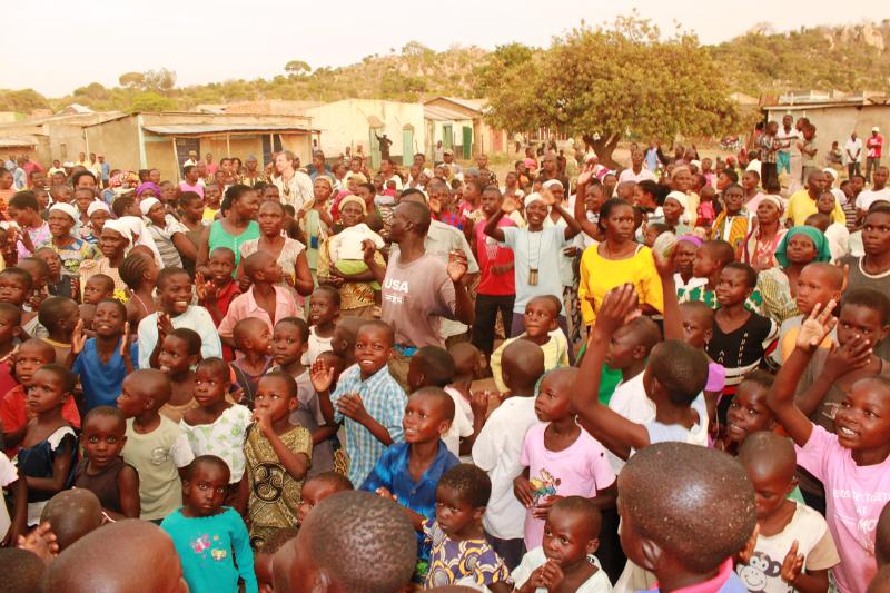 Mer en 150 mennekser søkte frem til frelse i det siste møte i Got Kachola