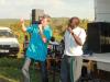 Ernst forkynner i møte ved Boarder Tanzania