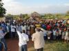 Mange søker frelse ved Border, som er ett sted akkurat på grensen mellom Kenya og Tanzania